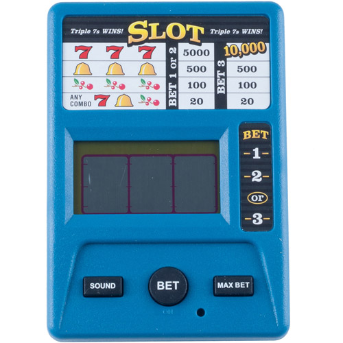 Trademark Electronic Handheld Slot Machine Game