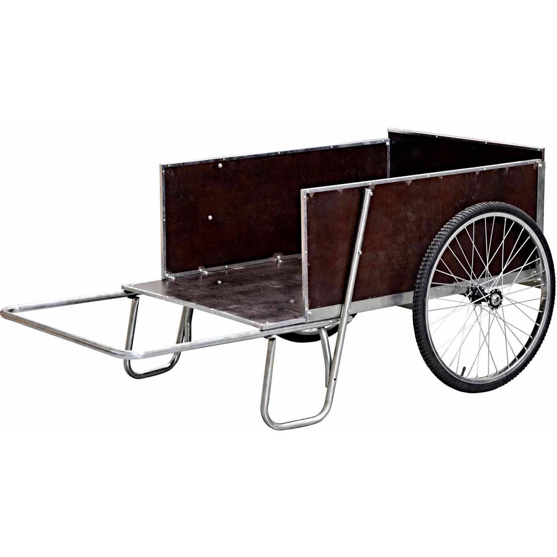 "Steel Yard/Garden Cart, 67""W, 13.6 cu. ft."