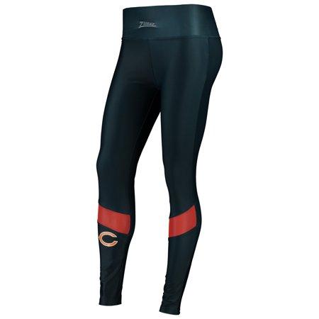 Women's Zubaz Navy Chicago Bears Colorblock Mesh Leggings](Chicago Bears Leggings)