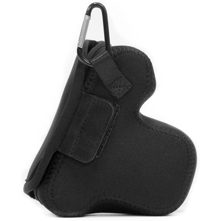 MegaGear MG510 Olympus PEN E-PL9, E-PL8, E-PL7 Ultra Light Neoprene Camera Case - Black - image 1 de 5