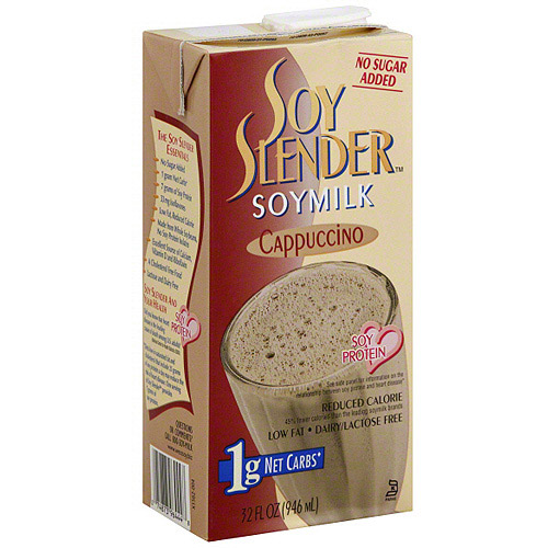 Soy Slender Cappuccino Soymilk, 32 fl oz (Pack of 12)