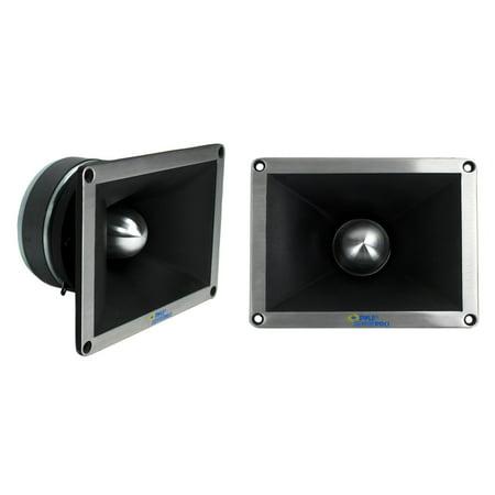 "2) NEW PYLE PRO PDBT78 2"" 1400 Watt Super Titanium Bullet Horn DJ Audio Tweeters"