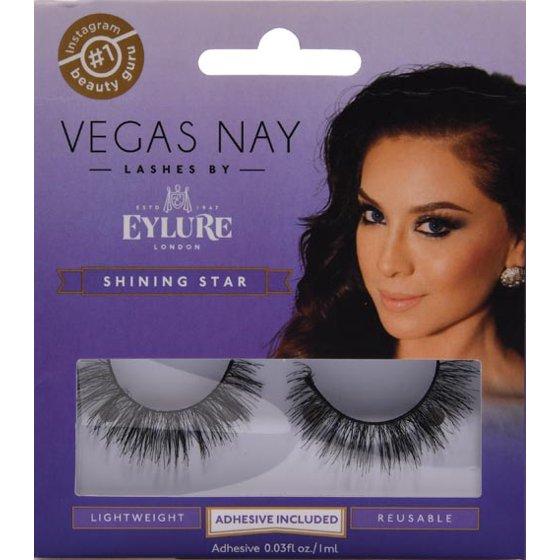f2fe3f48c38 Vegas Nay by Eylure Shining Star Eyelashes Kit, 2 pc - Walmart.com