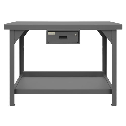 Durham Manufacturing Extra Heavy Duty Steel Top Workbench