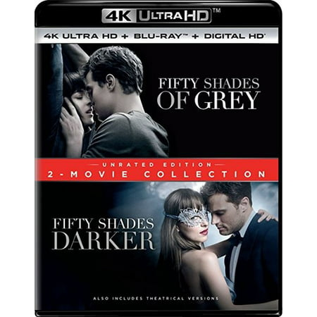Fifty Shades of Grey / Fifty Shades Darker: 2-Movie Collection (Unrated Edition) (4K Ultra HD + Blu-ray + Digital Copy)](Halloween 2017 50 Shades Of Grey)