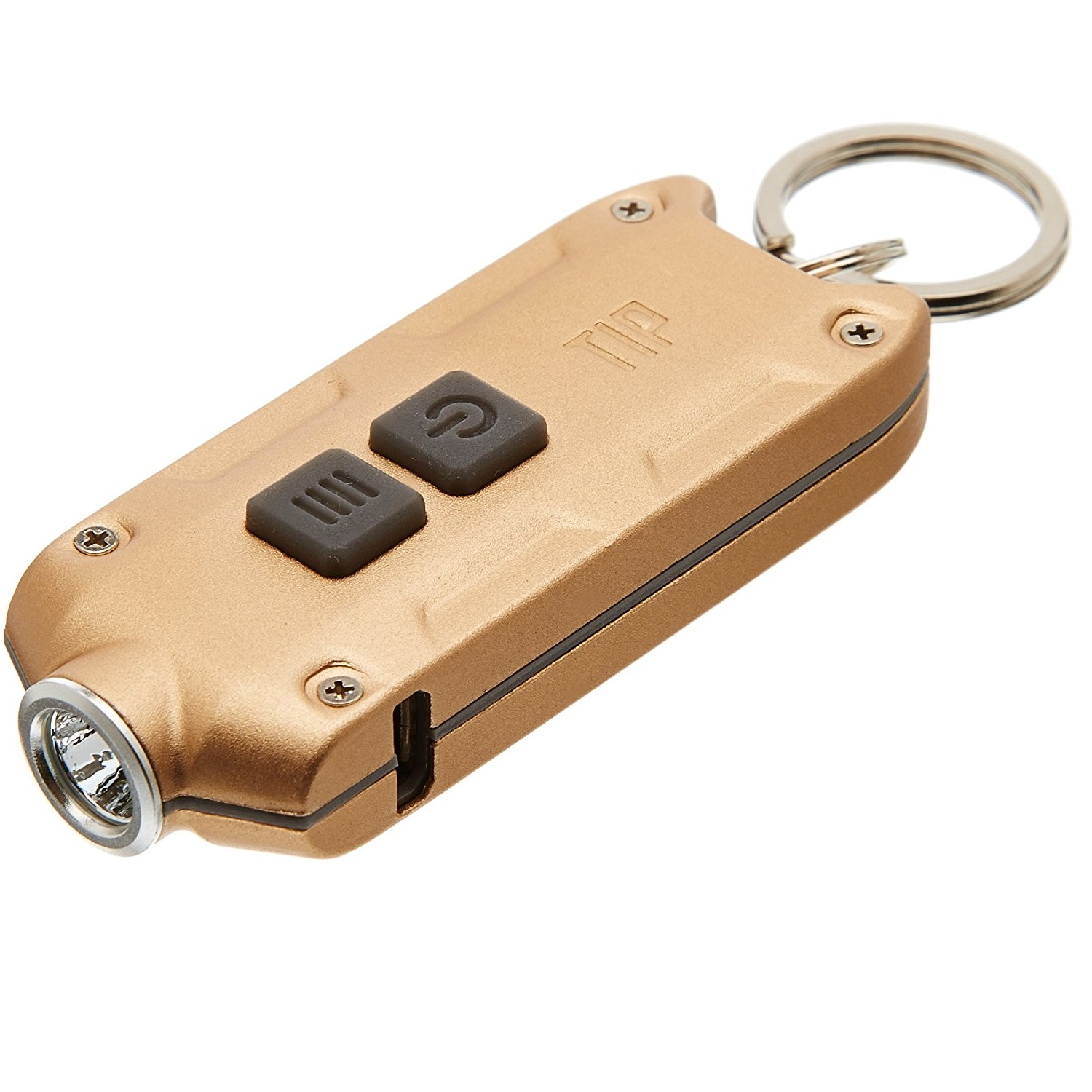 Nitecore TIP Rechargeable Keychain Light Red