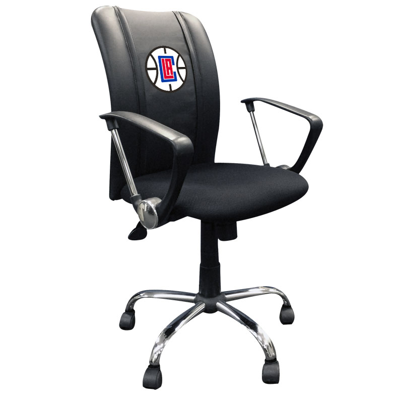 Los Angeles Clippers NBA Curve Task Chair