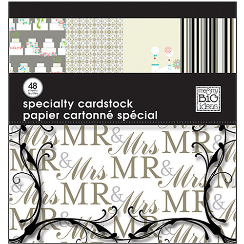 Me And My Big Ideas Wedding Specialty Cardstock Pad
