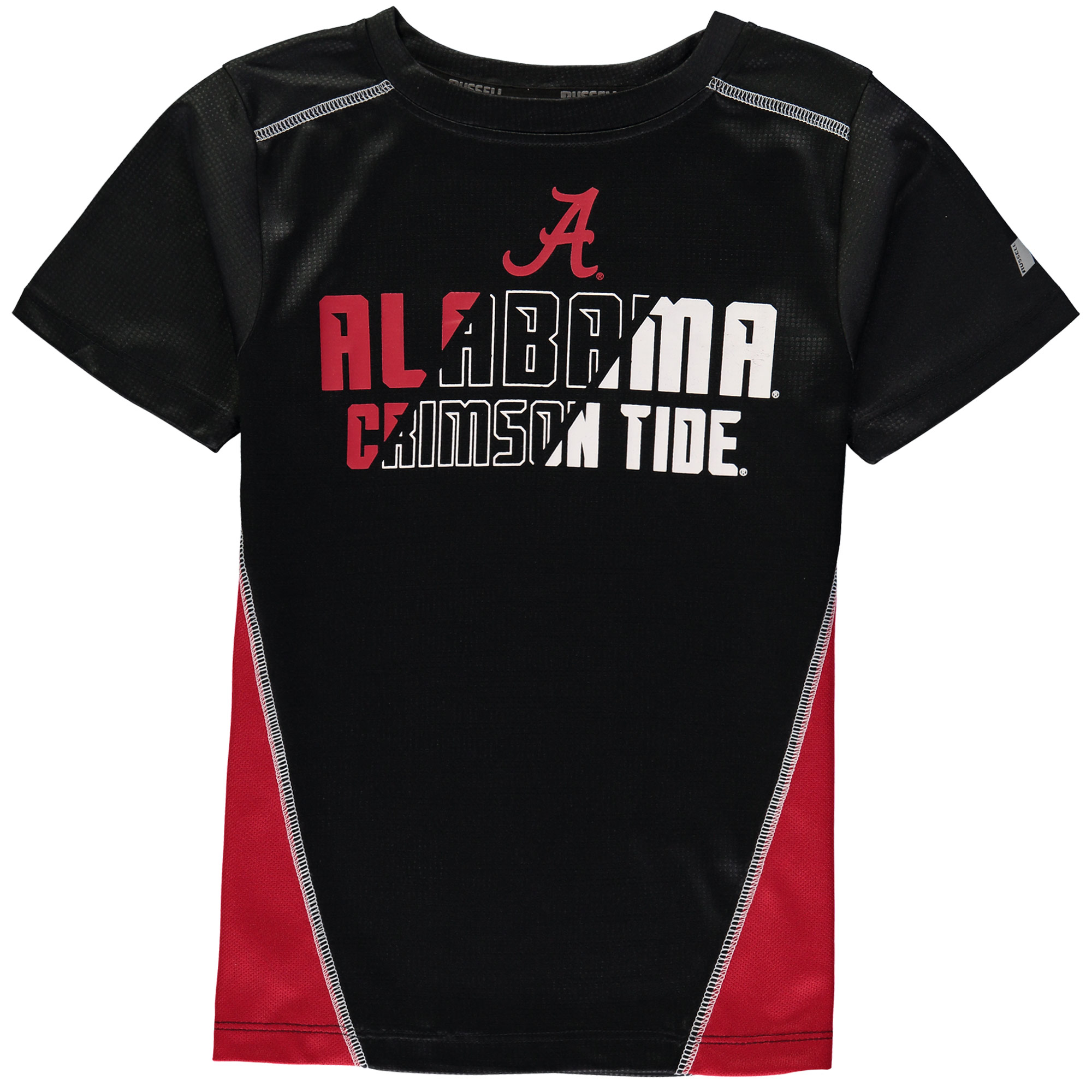 Youth Black Alabama Crimson Tide Impact T-Shirt