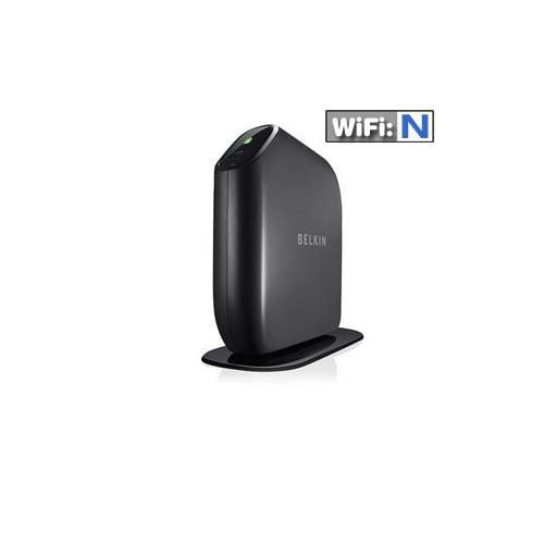 Belkin F7D6301 Surf N300 Wireless N Router - 4x 10/100 LAN Ports, 802.11n, Up to