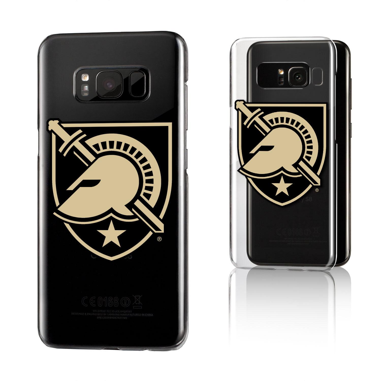 USMA Army Academy Black Knights Insignia Clear Case for Galaxy S8