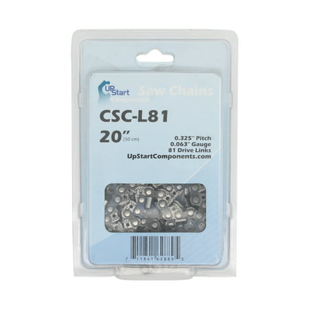 """Replacement 20-Inch L81 22BPX Chainsaw Chain for Stihl 36 Chainsaw (20"""" Length, .325"""" Pitch, 0.063"""" Gauge, 81 Drive Links) - image 1 de 1"""