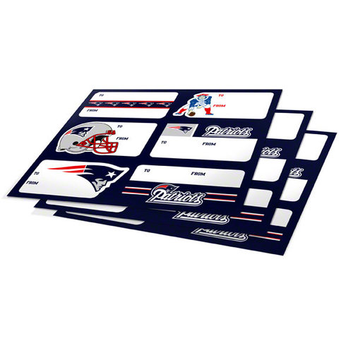 NFL - New England Patriots Gift Stickers