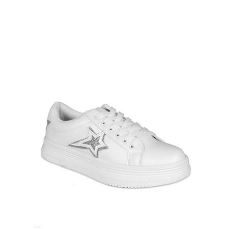 Star Wars Shoes Womens (Nature Breeze Star Women's Platform Sneakers in)