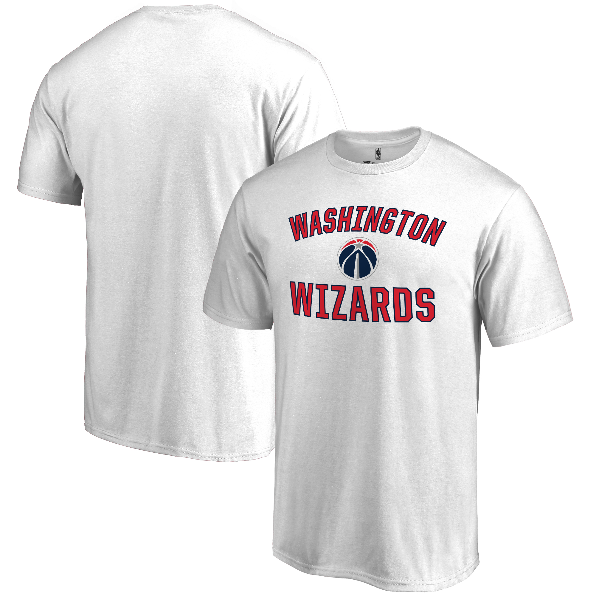 Washington Wizards Big & Tall Victory Arch T-Shirt - White