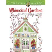 Creative Haven Coloring Books: Creative Haven Whimsical Gardens Coloring Book (Paperback)