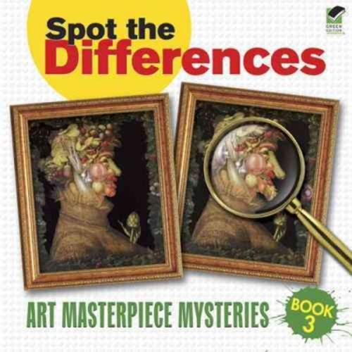 Spot the Differences: Art Masterpiece Mysteries