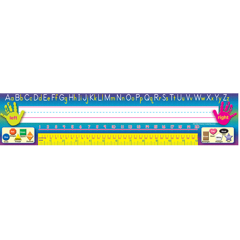 Teacher Created Super Nameplates, Pack of 36 Traditional Printing by TEACHER CREATED RESOURCES