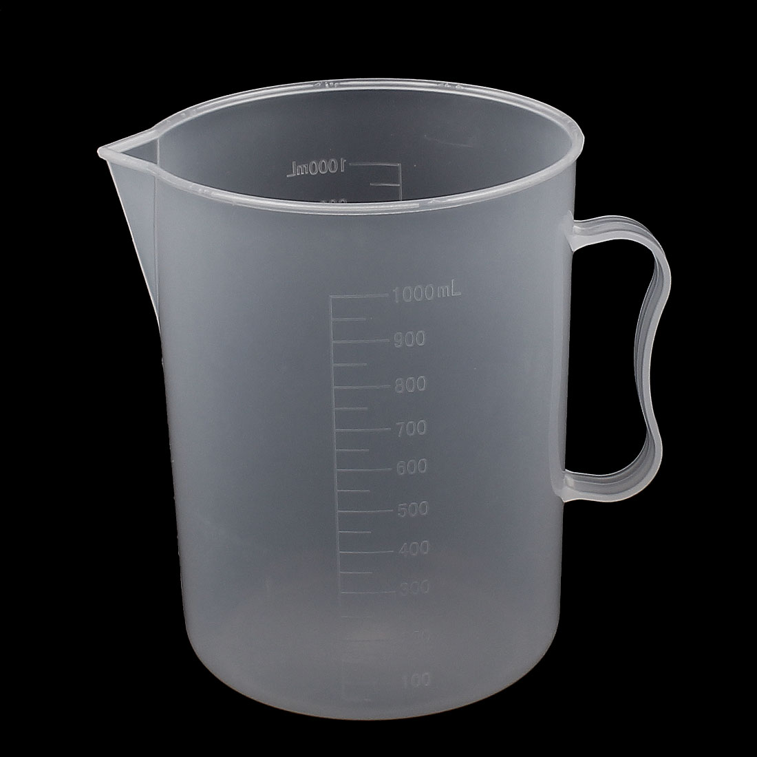 1000ML Measuring Cup Jug Graduated Surface Spoon Cooking Bakery Kitchen by Unique-Bargains