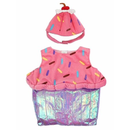 Infant Girls Pink Sprinkle Cupcake Halloween Costume Dress With Hat 12 Months Girl Costume Dress Hat Apron
