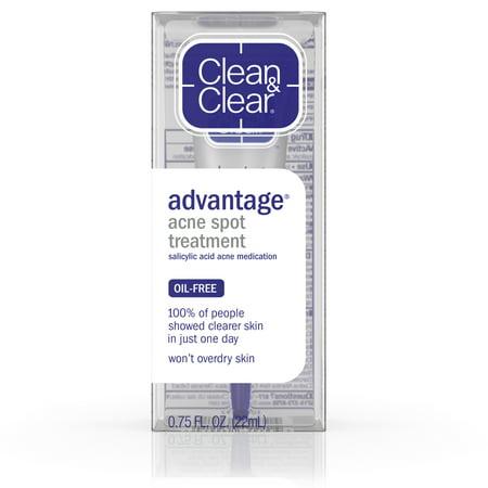Murad Blemish Spot Treatment (Clean & Clear Advantage Spot Treatment with Witch Hazel,.75 fl.)