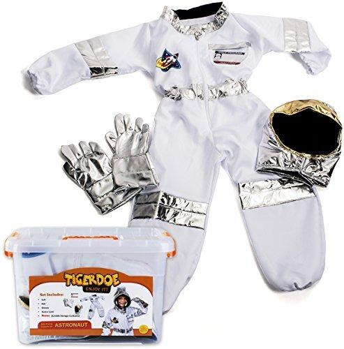Tigerdoe Astronaut Costume For Kids - Space Costume accessories With Case - Dress Up Sets - Pretend Play