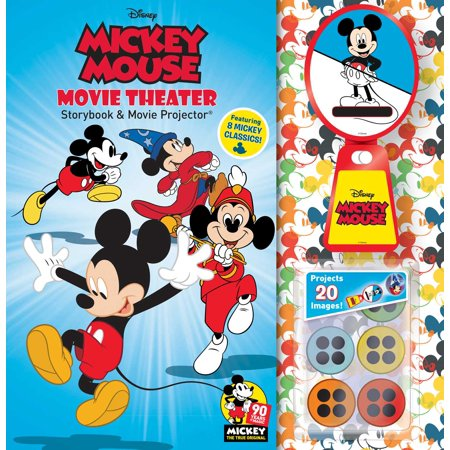 Disney Mickey Mouse 90th Anniversary Storybook & Movie Projector](Mickey Mouse Halloween Book)