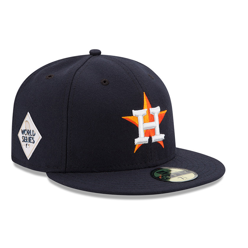 Houston Astros New Era 2017 World Series Bound Side Patch Home 59FIFTY Fitted Hat - Navy