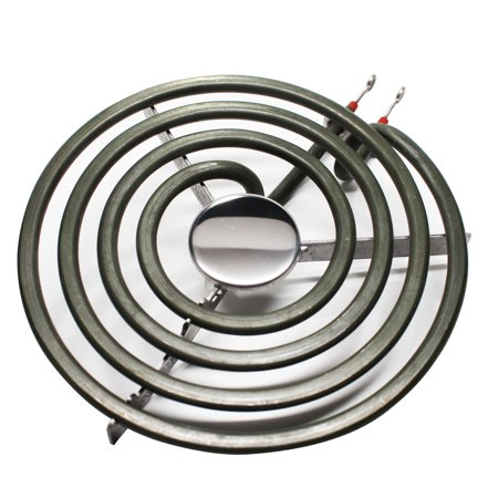 Replacement Admiral 1068F-CZ 6 inch 4 Turns Surface Burner Element - Compatible Admiral 660532 Heating Element for Range, Stove & Cooktop - image 2 de 4