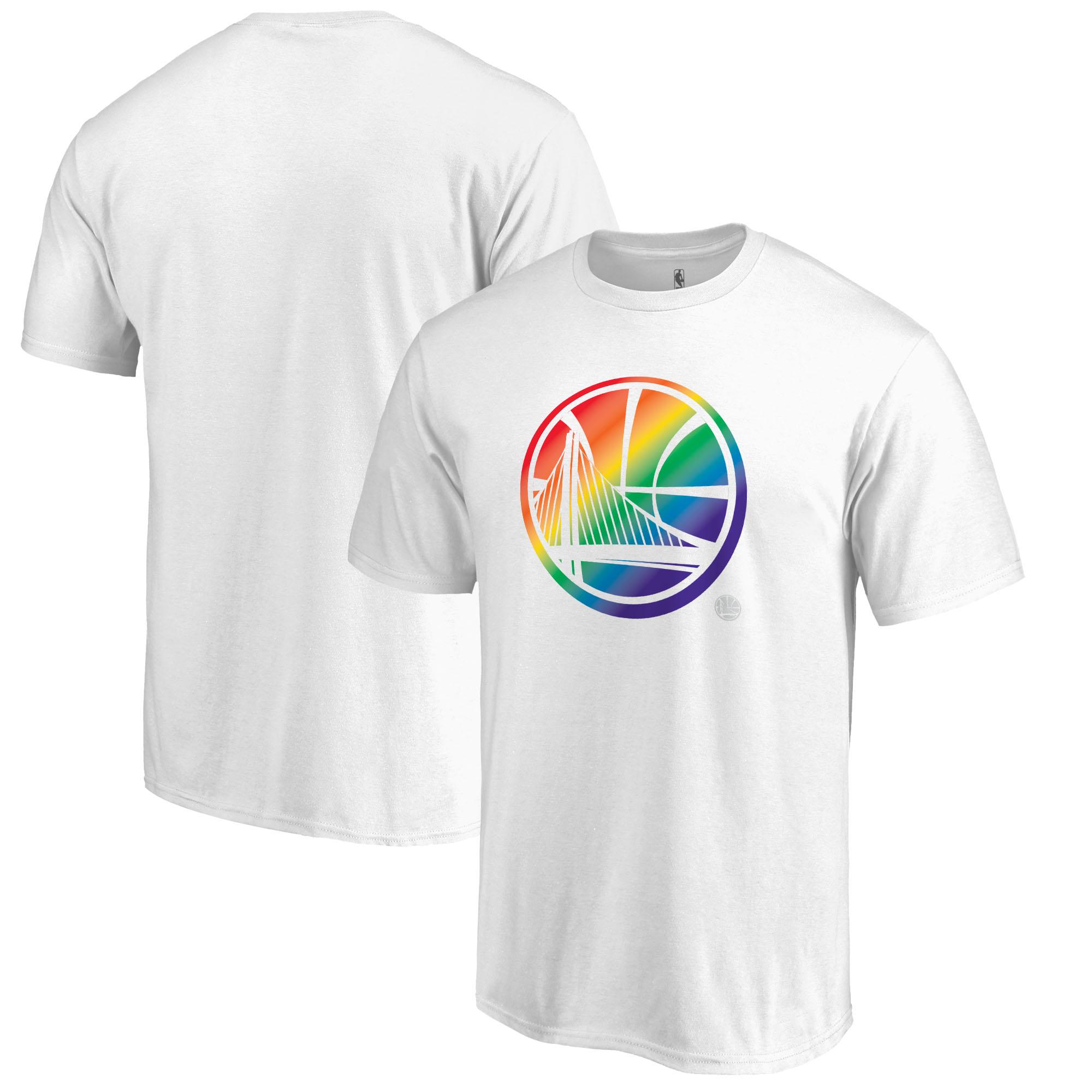 Golden State Warriors Fanatics Branded Team Pride T-Shirt - White