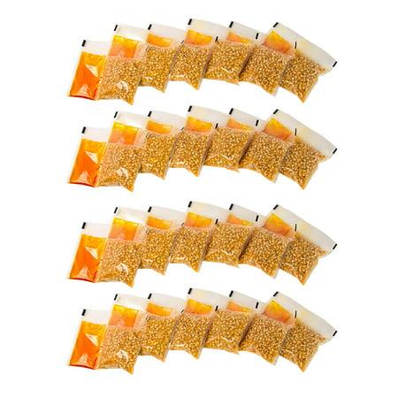 KPP424 Best Tasting Premium 4-Ounce Popcorn, Oil & Seasoning Salt All-In-One Packs - 24 Count Nostalgia - Popcorn