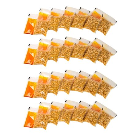 KPP424 Best Tasting Premium 4-Ounce Popcorn, Oil & Seasoning Salt All-In-One Packs - 24 Count Nostalgia - Popcorn (Best Oil To Cook Popcorn)