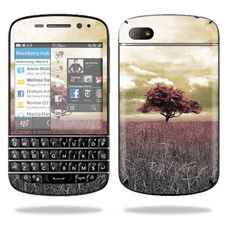 Mightyskins Protective Vinyl Skin Decal Cover for BlackBerry Q10 Cell Phone  SQN100-3 wrap sticker skins Vintage Scene