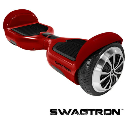 Swagtron Swagboard Pro T1 Hoverboard - Garnet