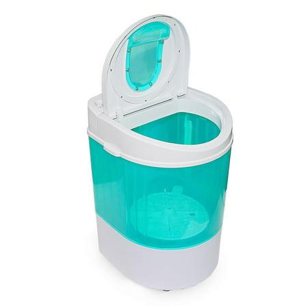 - Xtremepowerus 9lb electric mini washer portable compact washing laundry rv