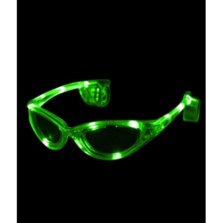 LED Sunglasses - Green for $<!---->