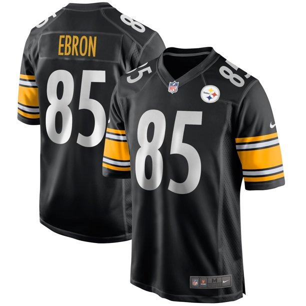 Eric Ebron Pittsburgh Steelers Nike Game Jersey - Black