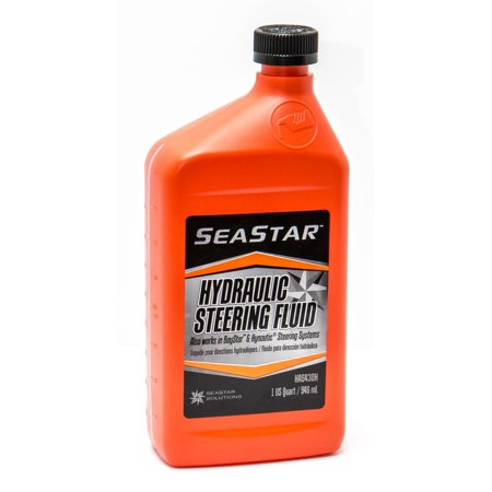 - Sierra HA5430H SeaStar/BayStar Hydraulic Steering Fluid - 1 Quart