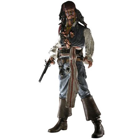 Pirates Chest Collection - Pirates of the Caribbean: Dead Man's Chest Series 1 Comic-Con Exclusive Cannibal Jack Sparrow Action Figure
