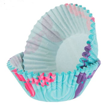 Mermaid Tail Baking Cups Birthday Party Supplies 50 Baking Cups