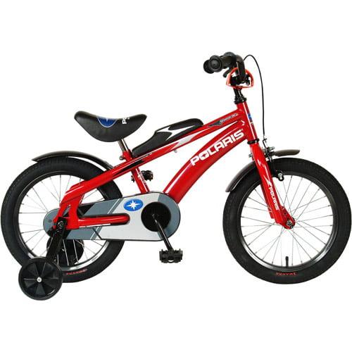 "16"" Polaris Edge Kids' Bike with Training Wheels"