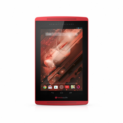 """HP Beats Special Edition 16GB 7"""" WiFi Tablet, Sparkling Red"""
