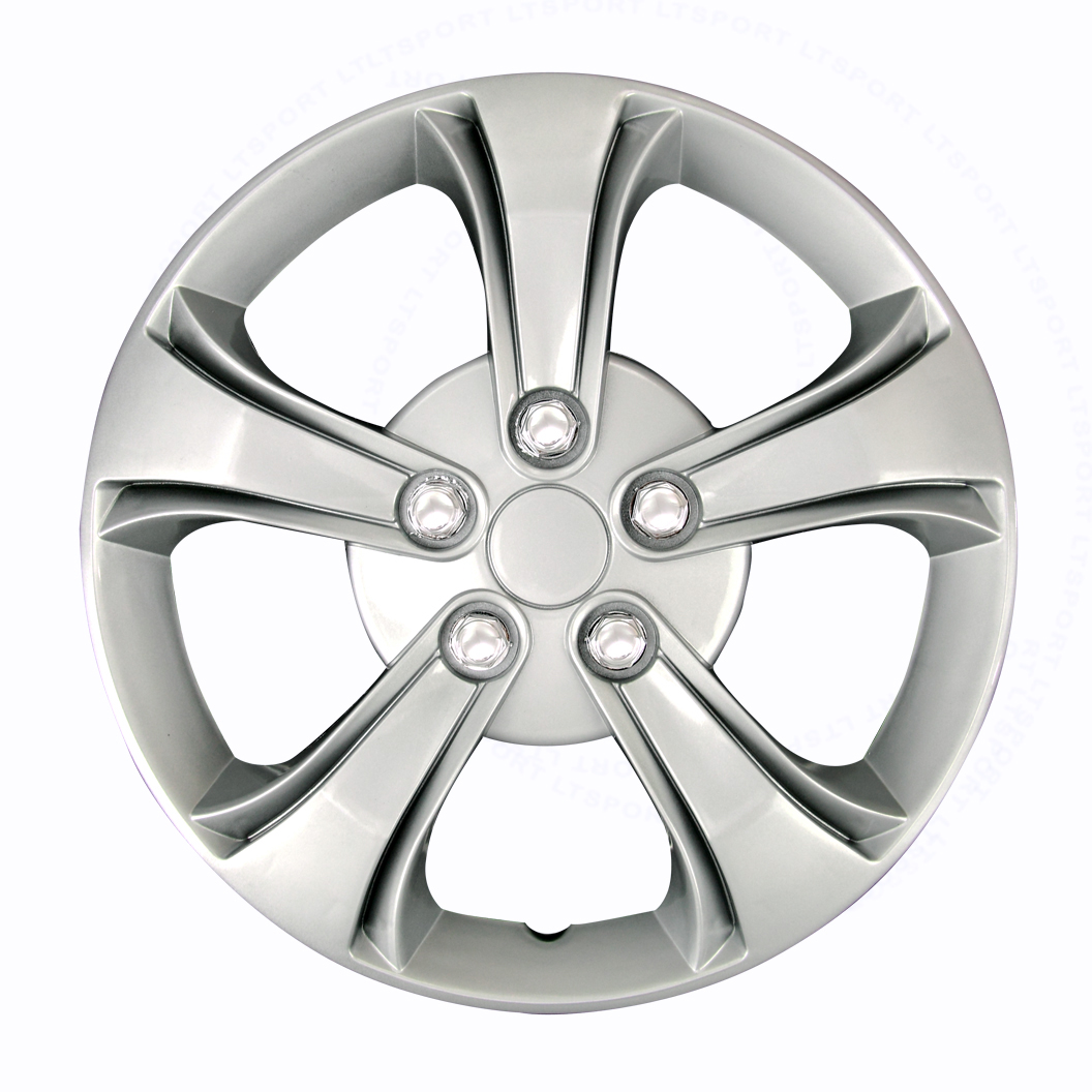 FIT 78-08 BUICK 4 PCS SET SILVER/CHROME HUB CAPS RIMS CAR WHEEL COVERS 14""