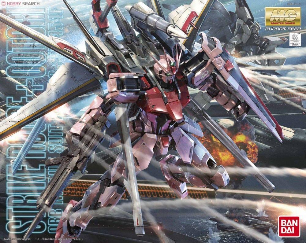 Bandai Hobby Gundam MG Strike Rouge Ootori Ver. RM 1 100 Scale Model Kit by Bandai Hobby