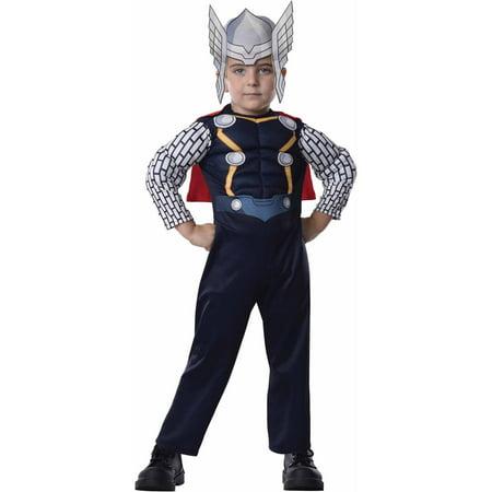Thor Toddler's Costume, 3T-4T - Thor Halloween Costume Walmart