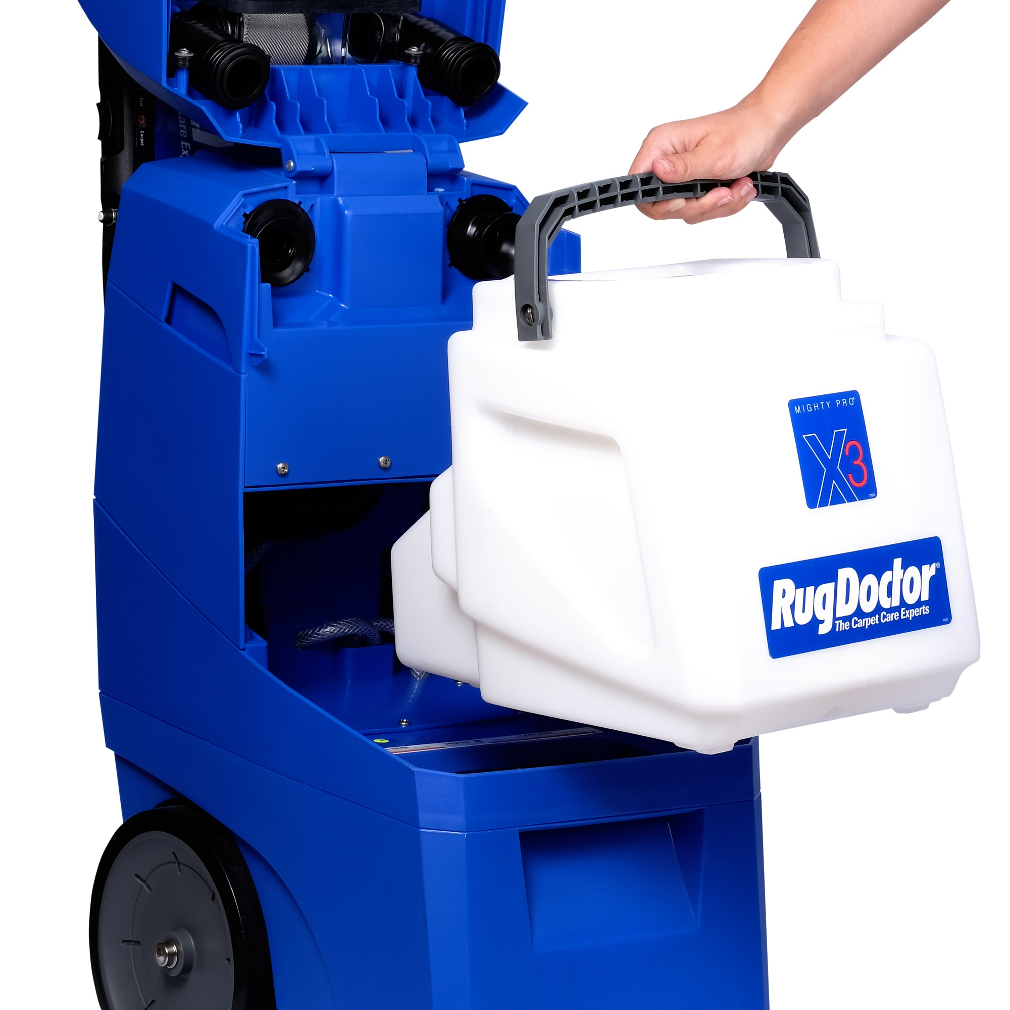 Rug Doctor Mighty Pro X3 Deep Carpet Cleaning Machine Removes Pet Stains And Neutralizes Odors