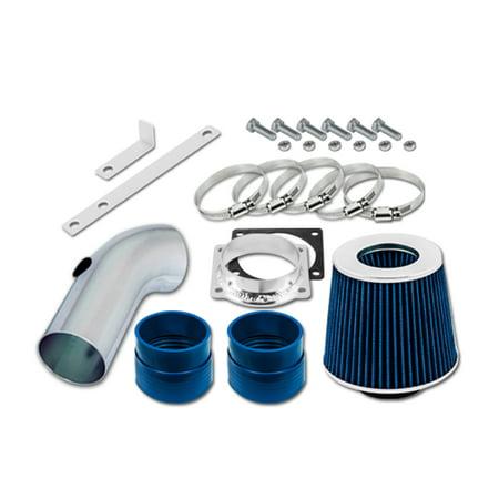 RL Concepts Blue Short Ram Air Intake Kit + Filter 92-95 Mercury Grand Marquis 4.6 V8