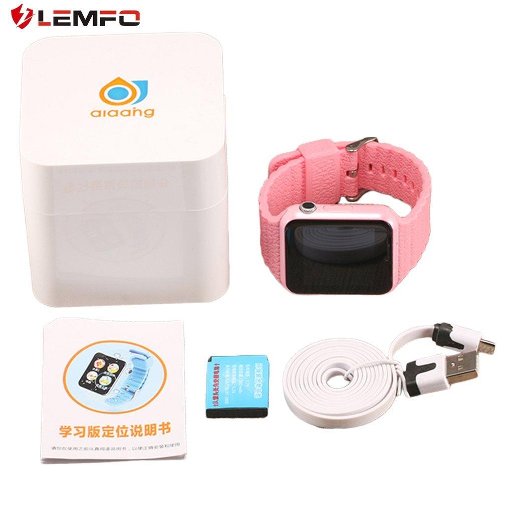 LEMFO V7K Children Smart Watch Safety Monitor Location Tracker Waterproof