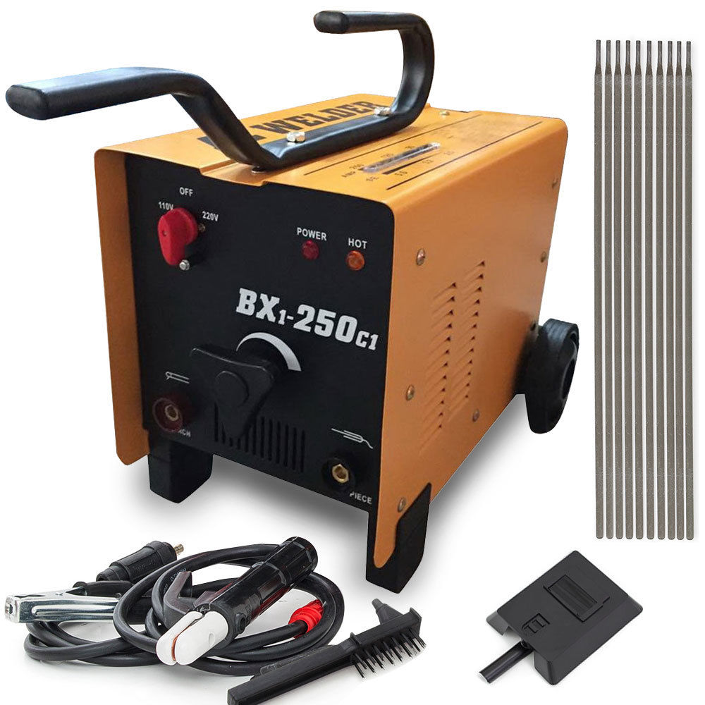 Zimtown 250 Amp Arc Welder 110v 220v Voltage Dual AC Fan ...