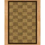 Natural Area Rugs Oslo Fudge Hand-Woven Brown Area Rug